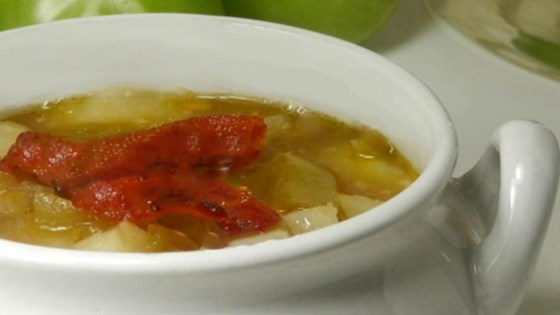 Photo of Green Tomato and Bacon Soup by Ellie