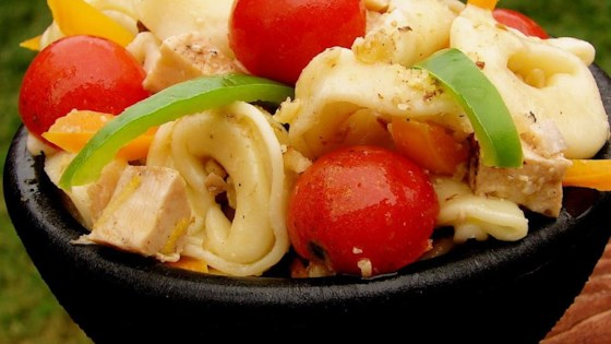 Photo of Charlotte's Tortellini Salad by Charlotte