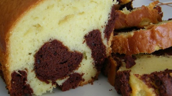 Photo of Light Marble Pound Cake by Carole