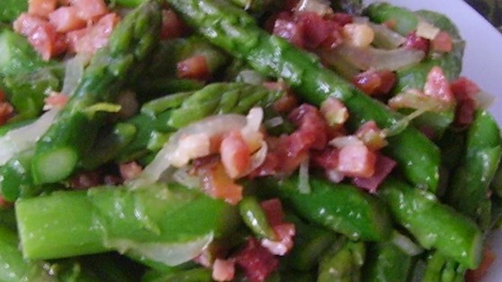 Photo of Pancetta Tarragon Asparagus by Blue Buddha