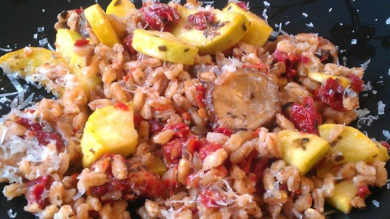 Photo of Jenni's Italian Farro Pilaf by Jennifer Hayes Ryjewski
