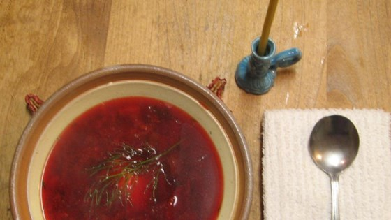 Photo of Ukrainian Borscht by William Anatooskin