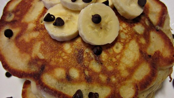 Photo of Banana Chocolate Chip Pancakes by Kimberlee Booth