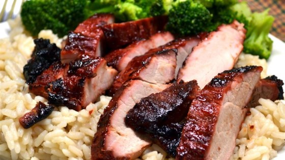 Char siu chinese bbq pork recipe allrecipes photo of char siu chinese bbq pork by davidandrea forumfinder Image collections