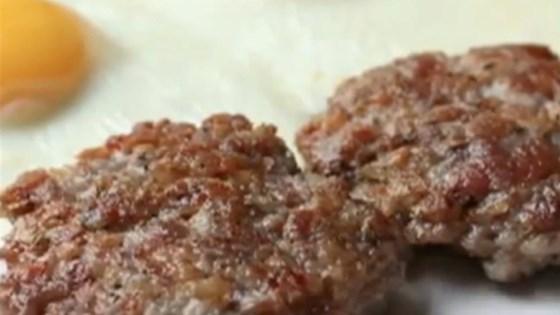 Chef John's Breakfast Sausage Patties Recipe