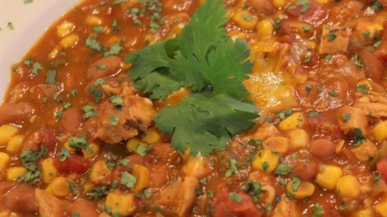 Photo of Chicken Tortilla Soup in the Slow Cooker by roxyjez