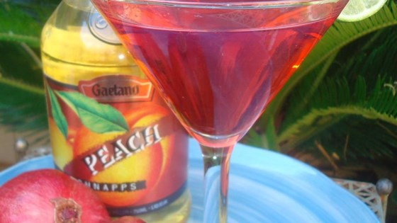 Photo of Pomegranate Martini by Tiffiney Launhardt