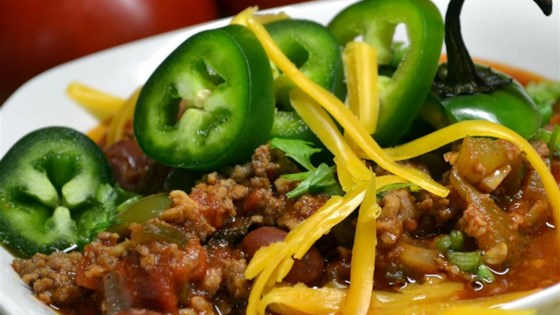Best Damn Chili Recipe