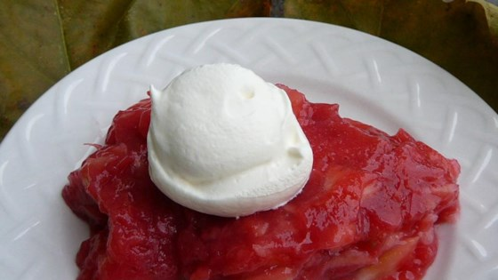 Photo of Rhubarb Gelatin Salad by CYNSABL