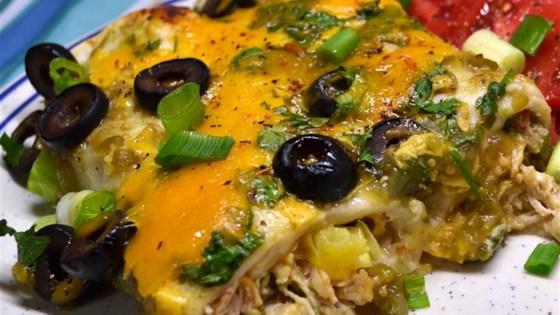 Photo of Cream Cheese Chicken Enchiladas by Jaimie