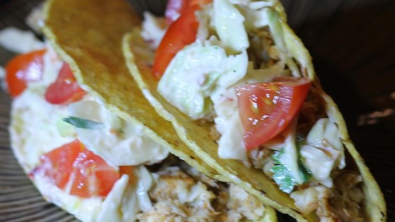 Photo of Spicy Fish Tacos with Fresh Lime Sauce by irvinetustin