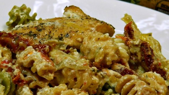 Chicken and Artichoke in Lemon Vodka Sauce