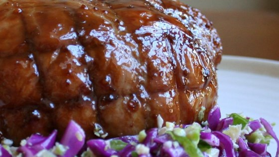 Photo of Roast Pork with Maple and Mustard Glaze by Christine L.