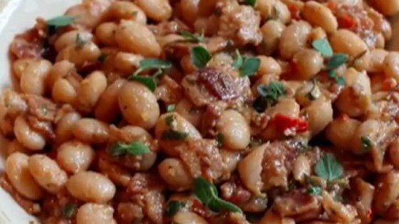 Photo of Bacon and Cranberry Bean Ragout by Chef John