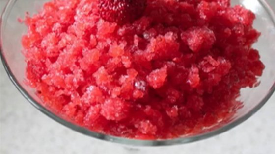 Photo of Fresh Strawberry Granita  by Chef John