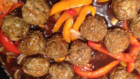 Photo of Oh So Easy Sweet and Sour Meatballs by Suz