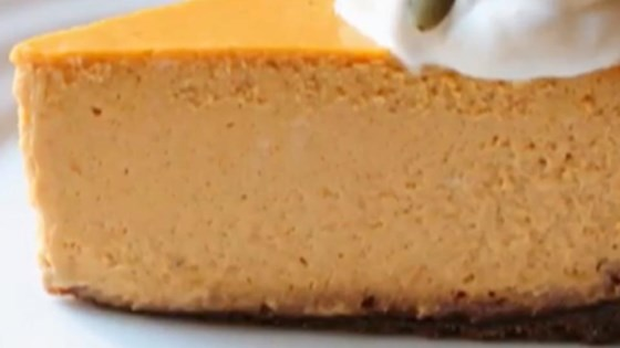 Photo of How to Make Pumpkin Cheesecake  by Chef John