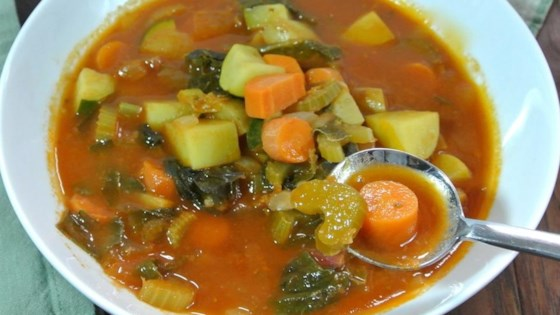 Photo of Fall Minestrone Soup by Culinary Ginger