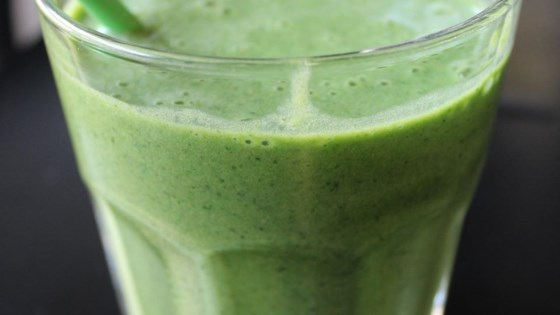 Photo of Kale and Banana Smoothie by Rice