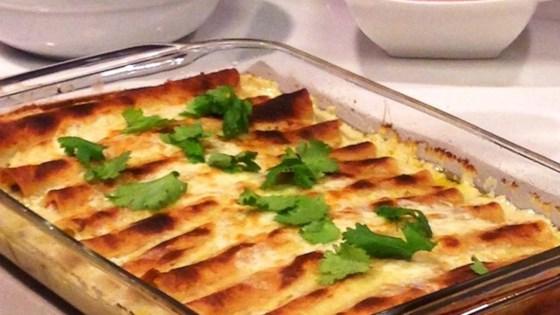Creamy Shrimp Enchiladas Recipe