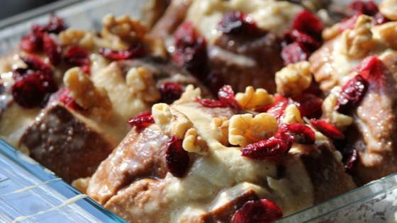 Photo of Cranberry Bread Pudding by Mike Smith