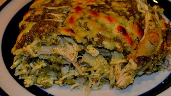 Photo of Chicken Enchiladas Verdes by Ann Shriner Thomas