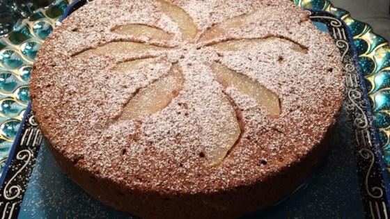 Aunt Josephine's Fresh Pear Cake