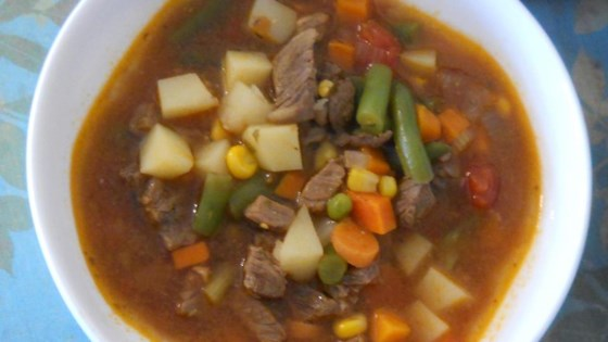 Photo of Vegetable Beef Soup III by Kristin