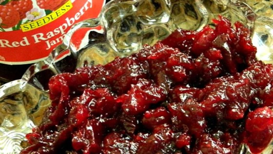 Photo of Easy Cranberry Raspberry Sauce by DebAnn