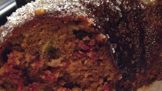 Photo of Cranberry Apple Cake by stupidmonke