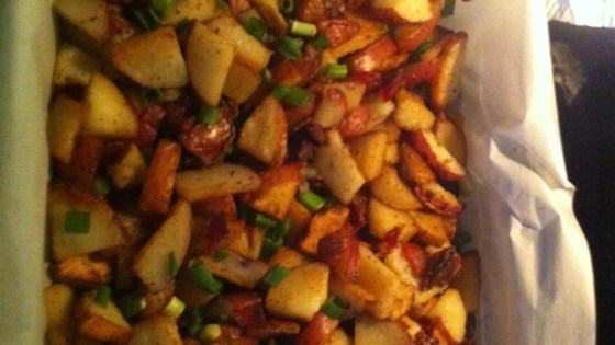 Photo of Breakfast Potatoes with Bacon by marissa