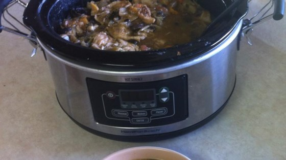 Photo of Babushka's Slow Cooker Root Vegetable and Chicken Stew by Alarowitz