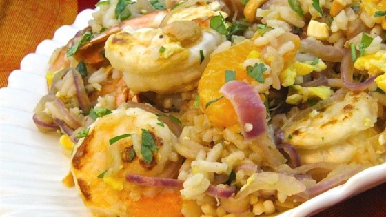 Photo of Summer Special Shrimp and Fruit Fried Rice by keka1980