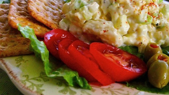 Photo of Creamy Cauliflower Egg Salad by OMARILYN