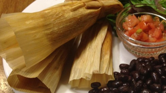 Leftover Turkey Tamales