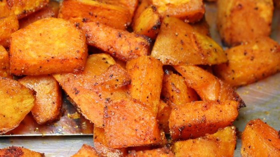 Photo of Sweet and Spicy Sweet Potatoes by Erin R Pitman