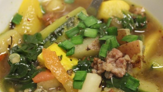 Chef John's Sausage, Zucchini, and Potato Stew