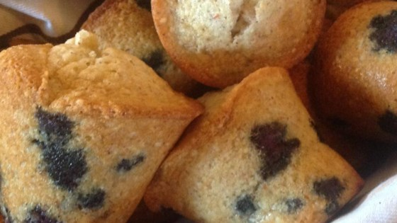 Photo of Gluten Free Blueberry Muffins by bakerb