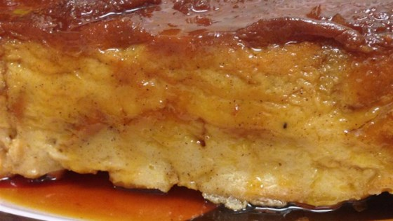 Photo of Bread Pudding With Caramel Sauce by starmaster25