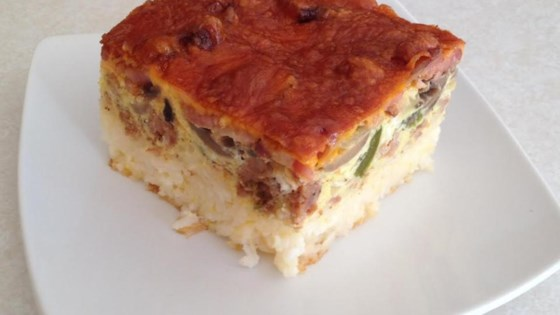 Rice-Based Breakfast Bake