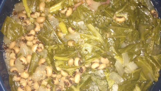 Photo of Hoppin' John With Greens - Slow Cooker Recipe by Tanya E