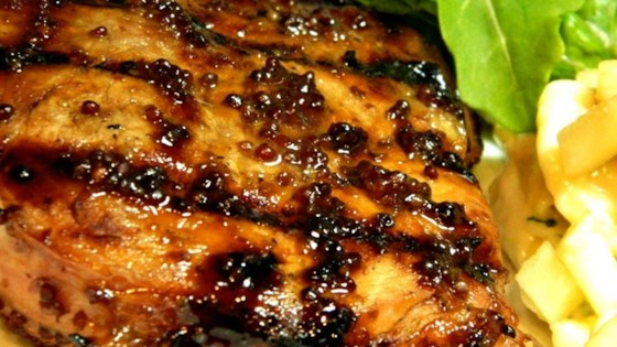 Photo of Dijon Grilled Pork Chops by Laguna Lala