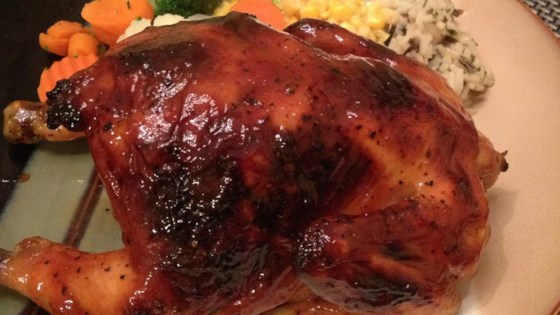 Photo of Orange Cornish Hen for Two by misty