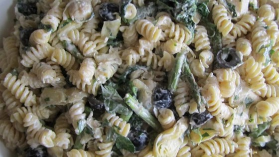 Photo of Artichoke Asparagus Pasta Salad by Home_Chef_Jen