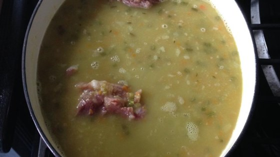 Photo of Ham Bone and Green Split Pea Soup by Mark