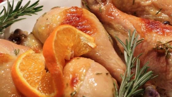 Photo of Roasted Orange Rosemary Honey Glazed Chicken by Jolanta