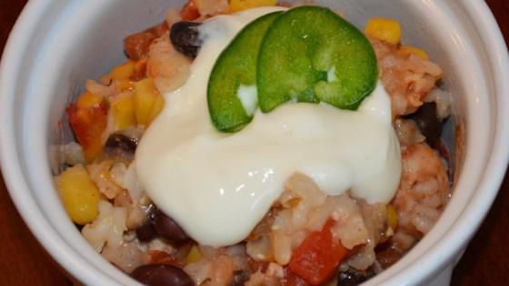 Photo of DASH Diet Mexican Bake by USA WEEKEND columnist Jean Carper