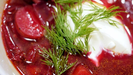Photo of Ukrainian Red Borscht Soup by Patti