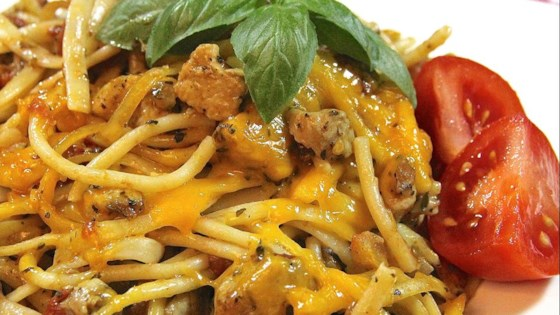 Oven-Baked Chicken Linguine Recipe