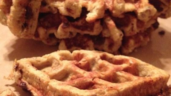 Banana Egg Waffles Recipe